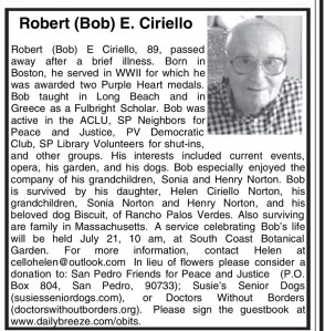 Bob Cierello