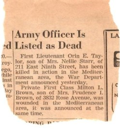 Lt Oren Taylor Death Notice-page-001
