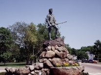 Minuteman Statue. Lexington, MA